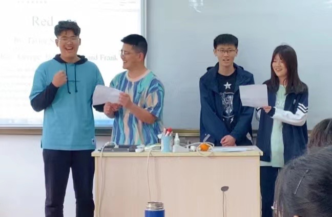 Spoken language class in Jiaxing BCOS–Interpret the ideas in the song